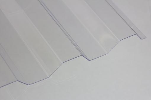 Polycarbonat Trapezprofil 76/18 klar